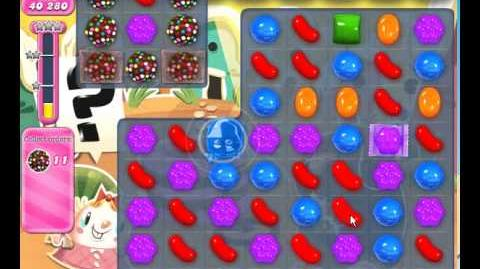Candy Crush Saga level 694 No booster used!