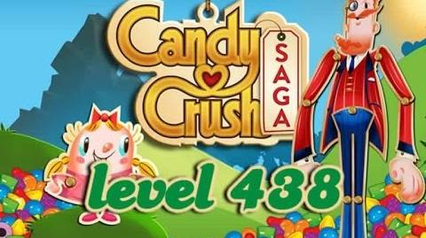 Candy Crush Saga Level 438 - ★ - 82,660