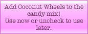 Coconut Wheel booster description