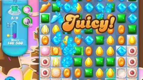Candy Crush Soda Saga Level 73 (3rd version, 3 Stars)