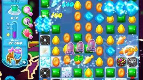 Candy Crush Soda Saga Level 1603 (3 Stars)