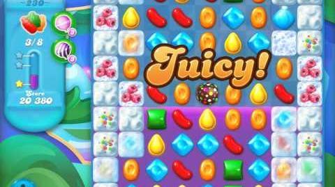Candy Crush Soda Saga Level 230 (2nd version, 3 Stars)