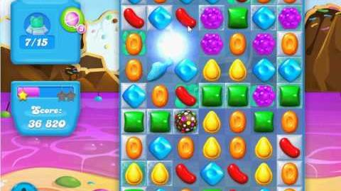 Candy Crush Soda Saga Level 25 (nerfed, 3 Stars)