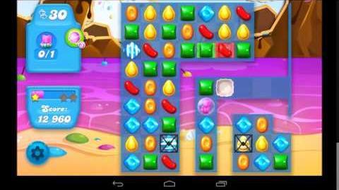 Candy Crush Soda Saga Level 25 - 3 Star Walkthrough