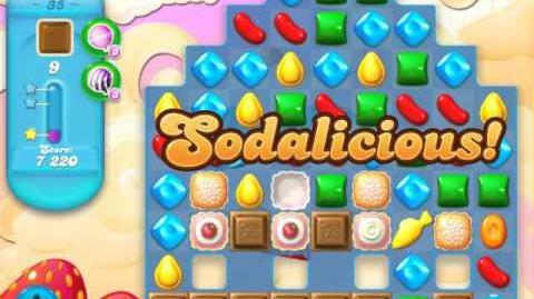 Candy Crush Soda Saga Level 35 (2nd version, 3 Stars)