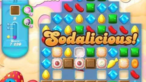 Candy Crush Soda Saga Level 35 (2nd version, 3 Stars)