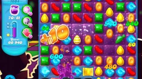 Candy Crush Soda Saga Level 1604 (3 Stars)