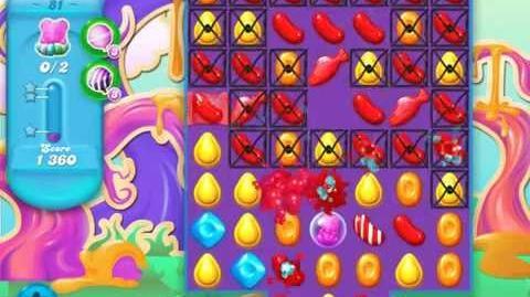 Candy Crush Soda Saga Level 81 (2nd version, 3 Stars)