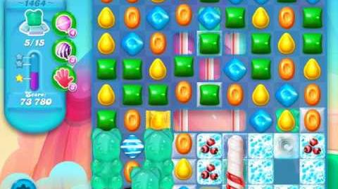 Candy Crush Soda Saga Level 1464 (4th version)