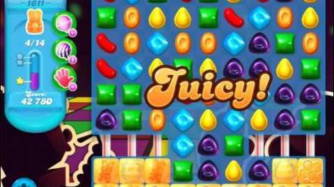 Candy Crush Soda Saga Level 1611