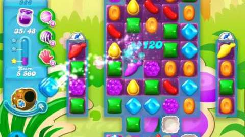 Candy Crush Soda Saga Level 326 (nerfed)
