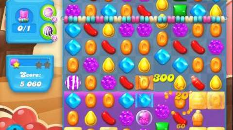 Candy Crush Soda Saga Level 91 (nerfed, 3 Stars)