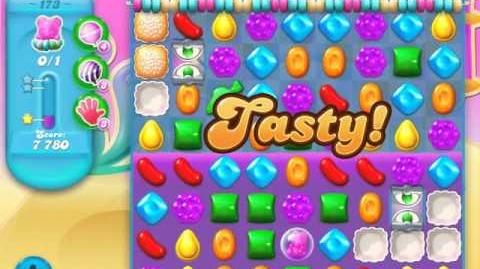 Candy Crush Soda Saga Level 173 (2nd nerfed, 3 Stars)