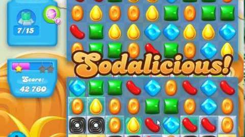 Candy Crush Soda Saga Level 160 (3rd version, 3 Stars)