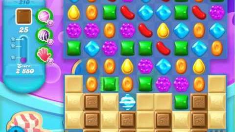 Candy Crush Soda Saga Level 210 (nerfed)