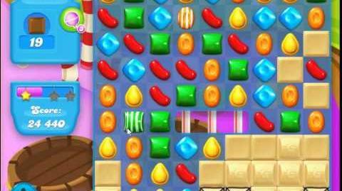 Candy Crush Soda Saga Level 135 (buffed, 3 Stars)
