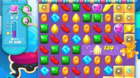Candy Crush Soda Saga Level 272 (2nd version, 3 Stars)