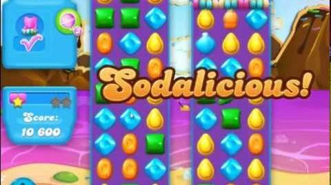 Candy Crush Soda Saga Level 18 Soda Bottles Intro