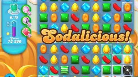 Candy Crush Soda Saga Level 160 (5th version, 3 Stars)