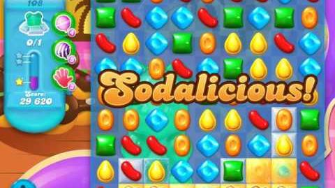Candy Crush Soda Saga Level 108 (6th version, 3 Stars)