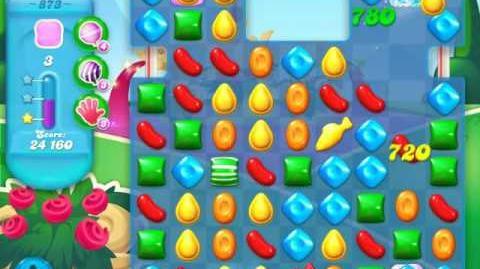 Candy Crush Soda Saga Level 873 (3 Stars)