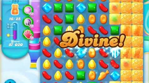 Candy Crush Soda Saga Level 295 (5th version, 3 Stars)
