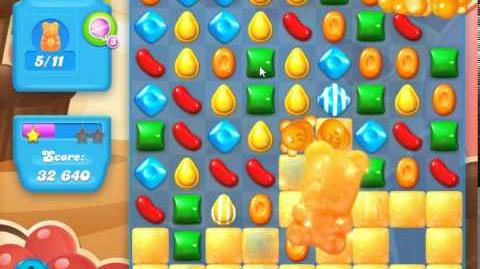 Candy Crush Soda Saga Level 102 (nerfed, 3 Stars)