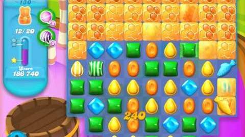 Candy Crush Soda Saga Level 130 (8th version, 3 Stars)