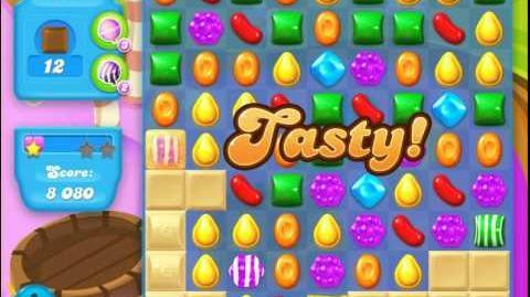 Candy Crush Soda Saga Level 122 (nerfed, 3 Stars)