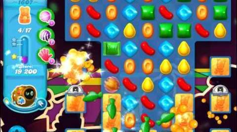 Candy Crush Soda Saga Level 1607