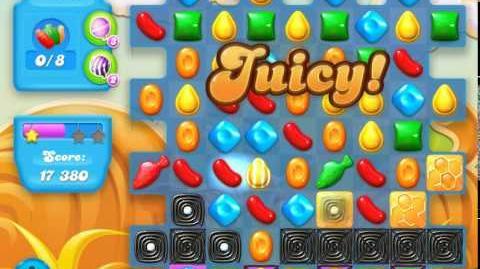 Candy Crush Soda Saga Level 165 (2nd buffed, 3 Stars)