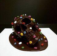 Color Bomb skull