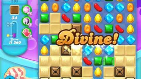 Candy Crush Soda Saga Level 205 (buffed, 3 Stars)