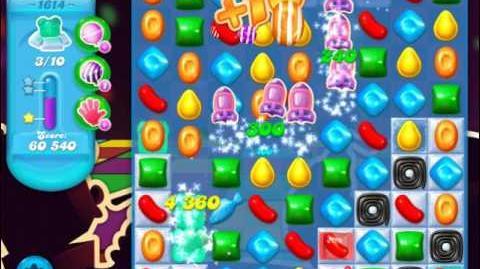 Candy Crush Soda Saga Level 1614 (3 Stars)