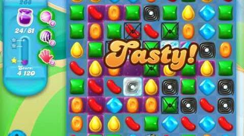 Candy Crush Soda Saga Level 268 (6th version)