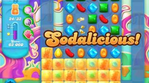 Candy Crush Soda Saga Level 90 (4th version)