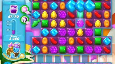 Candy Crush Soda Saga Level 302 (3 Stars)