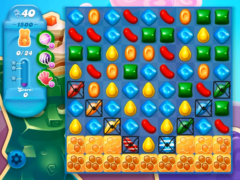 how to play level 1500 candy crush