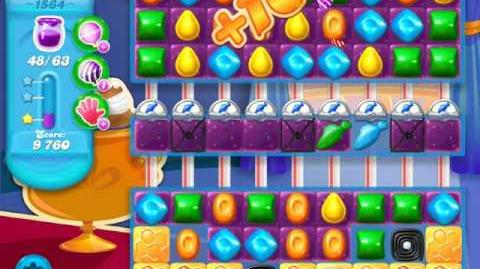 Candy Crush Soda Saga Level 1564 (3 Stars)