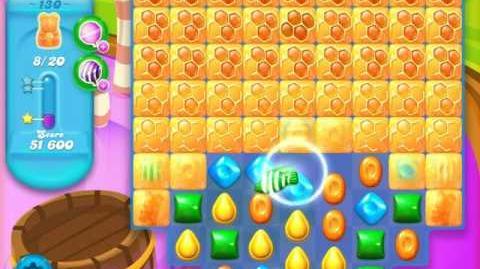 Candy Crush Soda Saga Level 130 (7th version, 3 Stars)