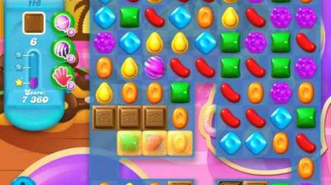 Candy Crush Soda Saga Level 116 (5th version, 3 Stars)