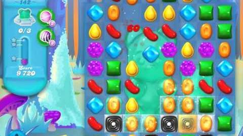 Candy Crush Soda Saga Level 142 (2nd nerfed, 3 Stars)