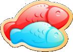 Double Delish Fish Icon