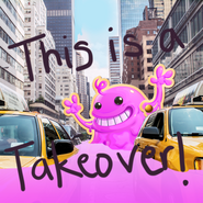 This is a takeover-Bubblegum Troll