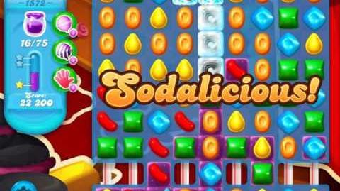 Candy Crush Soda Saga Level 1572 (3 Stars)