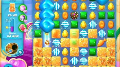 Candy Crush Soda Saga Level 334 (6th version, 3 Stars)