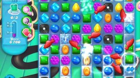 Candy Crush Soda Saga Level 189 (4th version, 3 Stars)