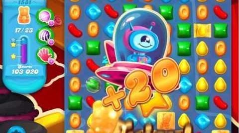 Candy Crush Soda Saga Level 1581 (3 Stars)