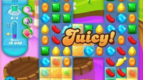 Candy Crush Soda Saga Level 132 (buffed, 3 Stars)