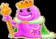 Happy bubblegum troll